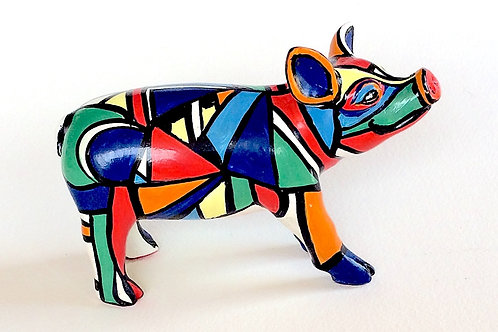 Abstract mini pig - PP-D1399