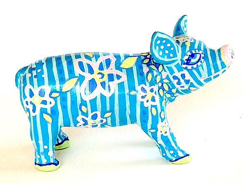 Blue Stripes mini pig - PP-D1401