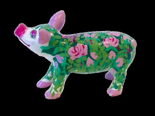 PP-R1440 Roses on green mini pig