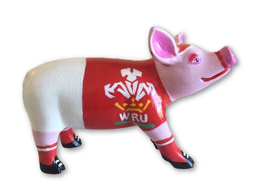 Welsh Rugby mini pig for World Cup 2019 - PP-R1432