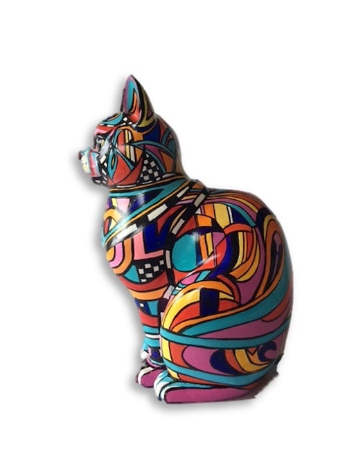 Abstract Small Cat - PP-D4023