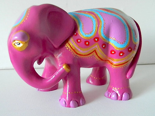 Pink & Gold on Elephant - PP-R3346