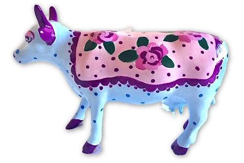 Roses on mini cow - PP-R2236