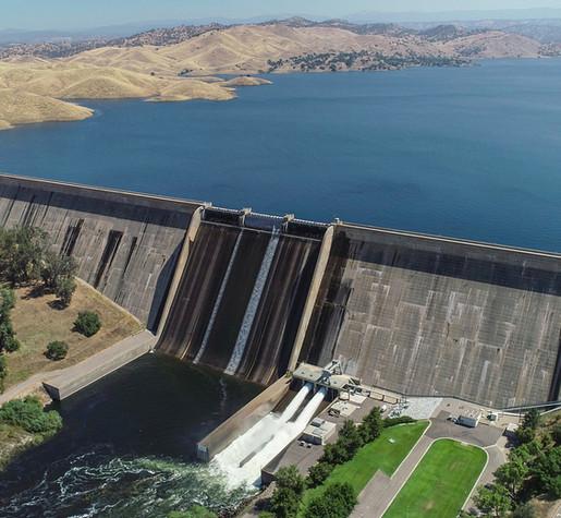 Millerton Lake Friant Dam