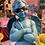 Thumbnail: Cool Blue Cherub Statue
