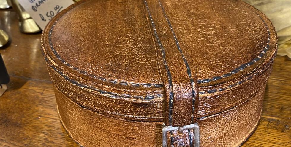 Ceramic Hatbox  Style Storage Piece