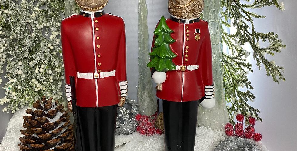Christmas Royal Guard Bears