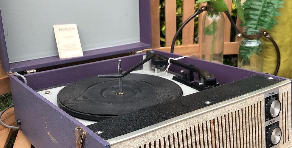 Original Suitcase Record Player