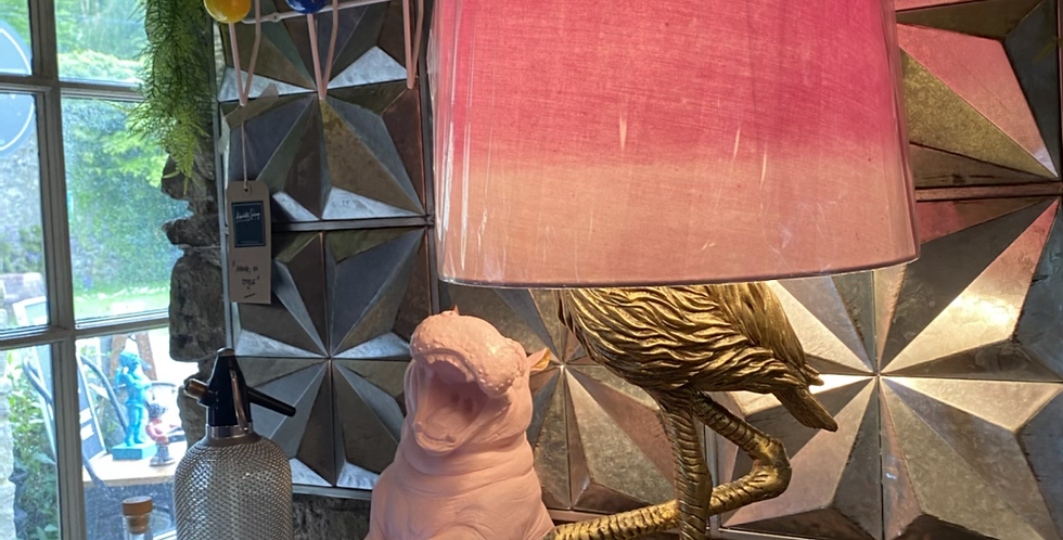 Flamingo Table Lamp.
