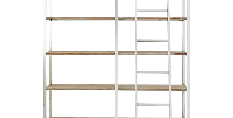 Shelving Display Unit with Ladder