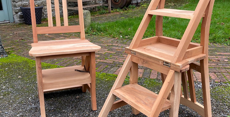 Converting Chair  Step Ladder
