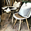 Thumbnail: Table Set with Two Eames Chairs.