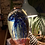 Thumbnail: Glass Paperweight with Blue Jellyfish in Giftbox