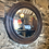 Thumbnail: Vintage Round Bevelled Mirror