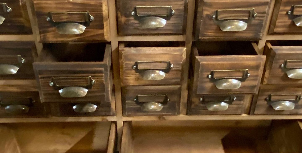 Apothecary Style Cabinet