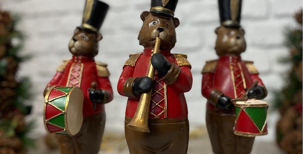 Christmas Bear Band Trio