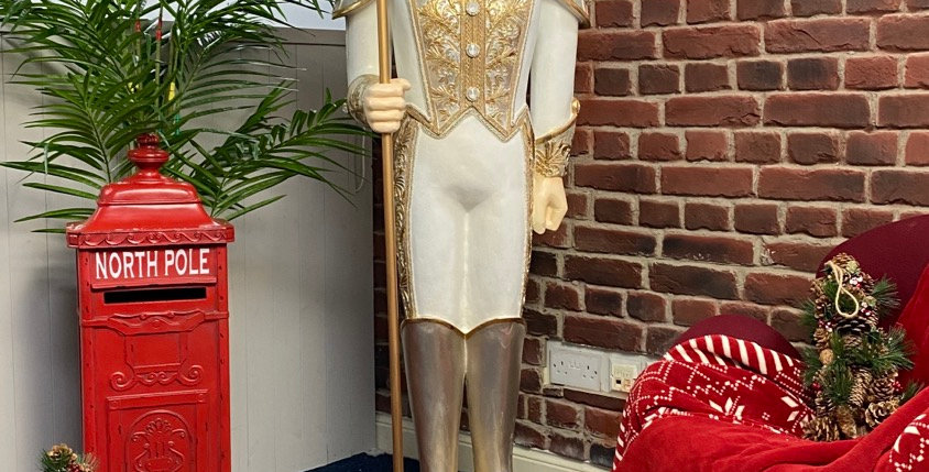 Lifesize Nutcracker Statue