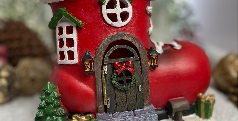 Christmas Santa's Boot House