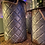 Thumbnail: Set of 3 Diamond Pattern Steel Buckets