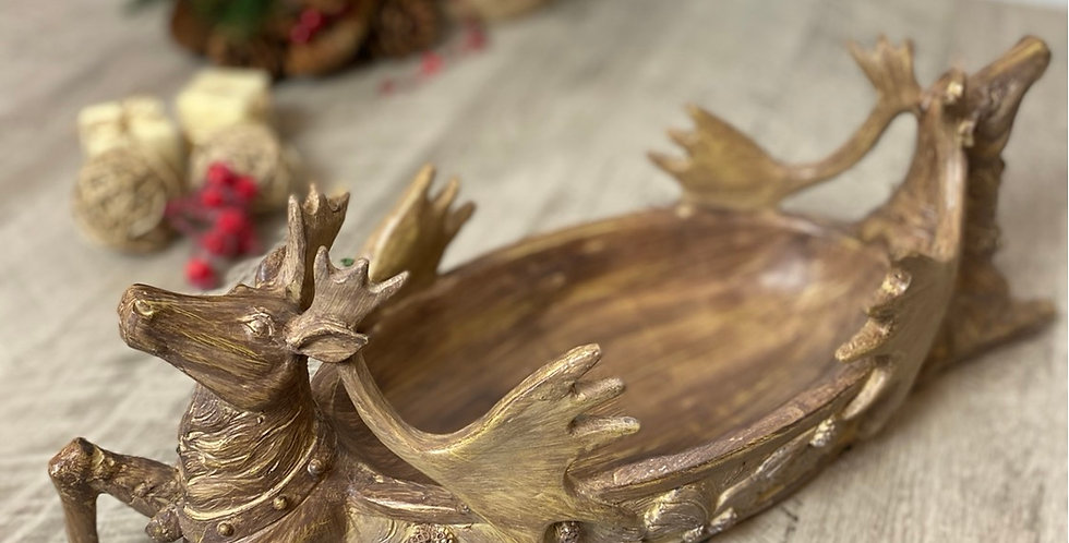Double Ended Deer Bowl