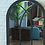 Thumbnail: Dark Grey Arch Mirror