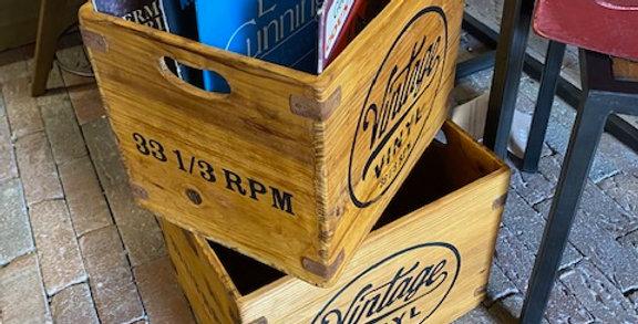 VintageVinyl Storage Boxes