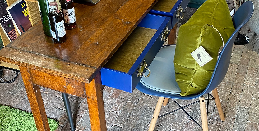Upscaled Antique Console Table