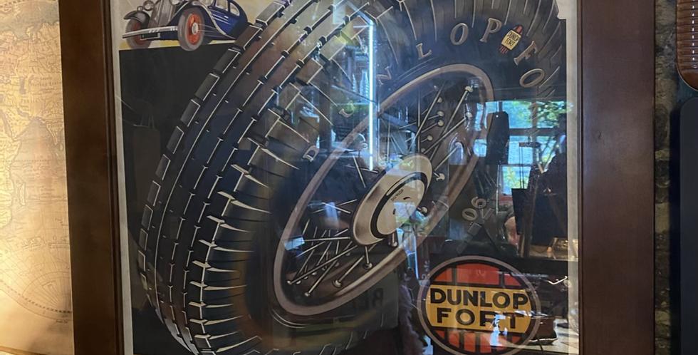 Dunlop Fort 90 Framed Print