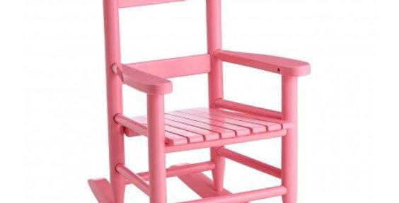Kids Pink Rocking Chair