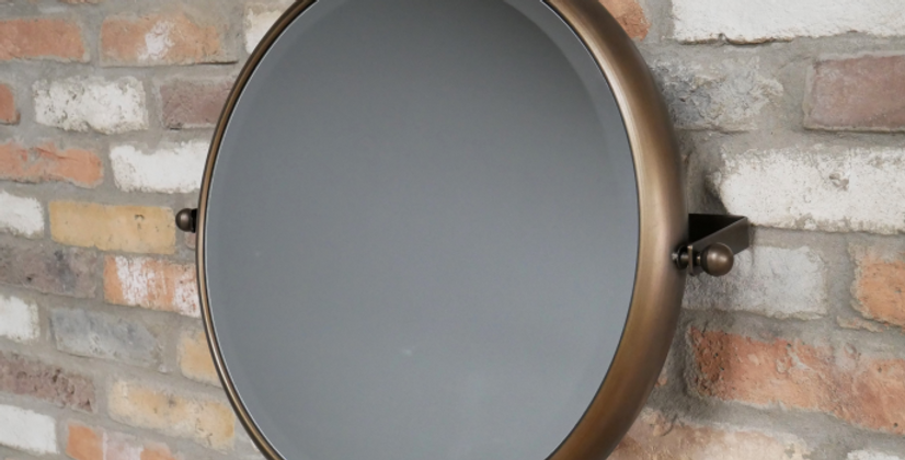 Round Swivel Mirror