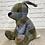 Thumbnail: Beautiful Tartan Bunny Doorstop