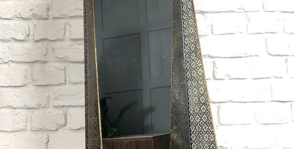 Ornate Shelf Unit with Mirror