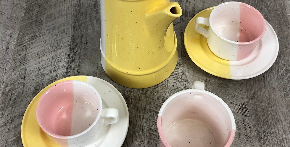 Fun & Stylish Ceramic Tea Set