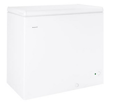 Hotpoint 7 CF cubic foot freezer white