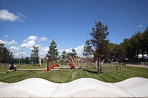 construccion obra civil parques y jardines y zonas verdes en Barcelona, Tarragona, Lerida, Gerona y Cataluña