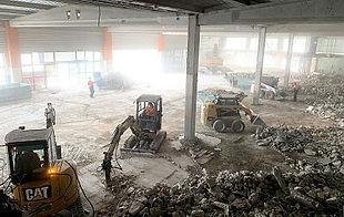 Demoliciones derribos en edificios industriales y comerciales