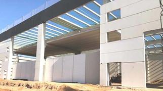 Construccion edificio industrial Tacis La Llagosta