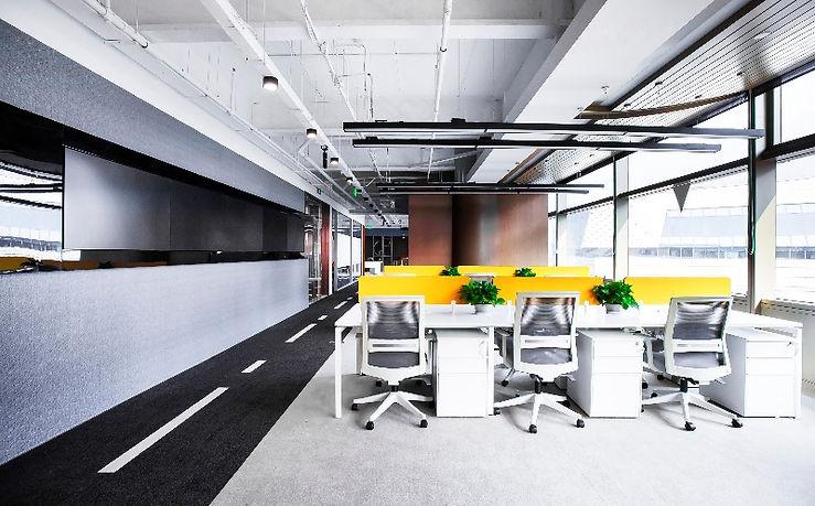 Reformas de oficinas espacio operativo