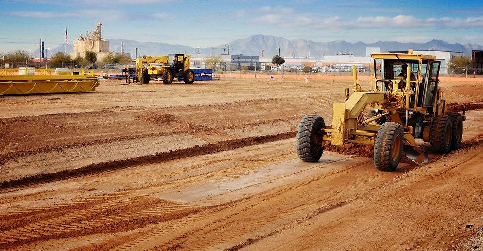 Motoniveladora para excavaciones y obra civil en Barcelona, Tarragona, Lerida, Gerona y Cataluña