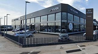 Hyundai-Construccion de naves comerciales Barcelona y Cataluna