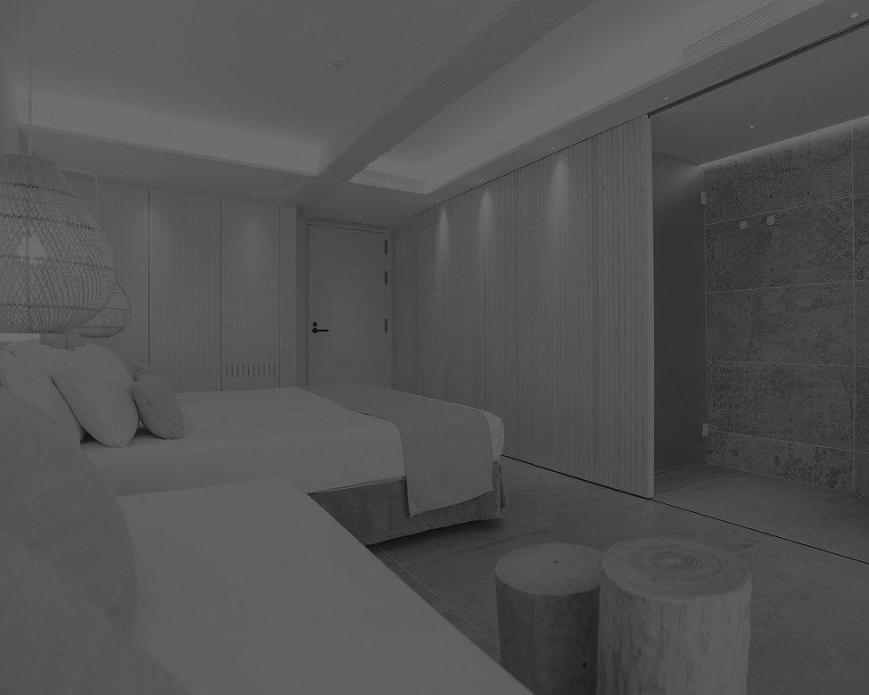 habitaciones decoradas con materiales nobles Reformas, interiorismo y fabricacion mobiliario hotel contract hosteleria restauracion. Nacional