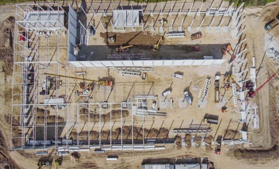 Construccion industrial naves en cataluñ