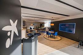 reforma y mobiliario oficinasCaixabank_o