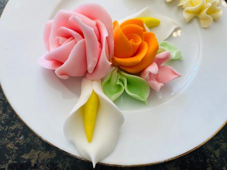 Live Baking- Sugar Flowers- Part 3 (Rose)