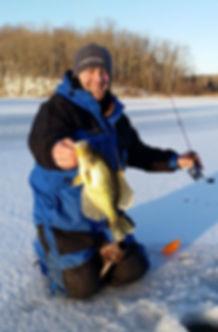 Ice fishing micro plastics