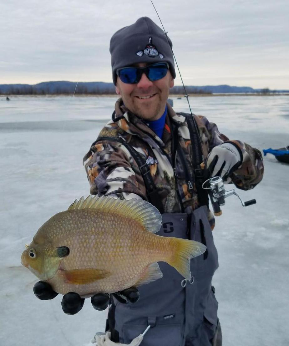 Fishing B-Y Baits in Wisconsin: Dec 2017 - Jan 2018