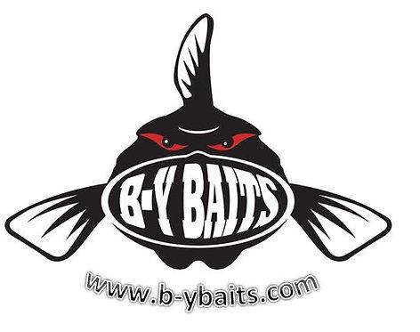 B-Y Baits Decal