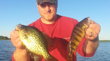 Vertical Jigging Panfish from a Boat