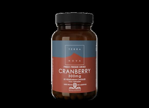 Terranova Cranberry 300mg 50 capsules