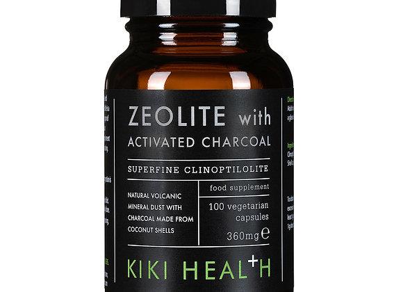 Zeolite With Activated Charcoal 100s - Kiki Health